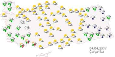 Bir Hafta Yağmur Işte 5 Günlük Haritalı Hava Raporu Memurlarnet
