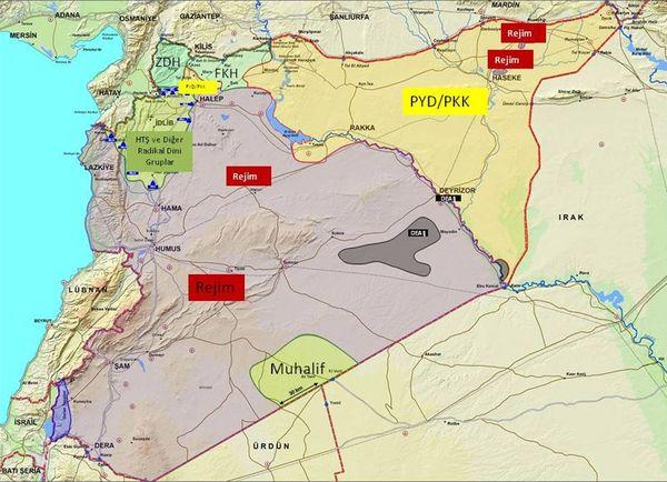 Suriyelilerin Çoğu Misak-ı Milli Sınırları İçinden