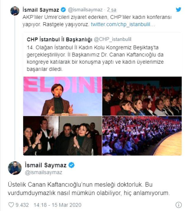 Saymaz ve Kaftancıoğlu arasında koronavirüs gerginliği - Memurlar.Net