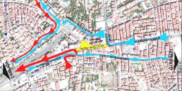 Istasyon Kazısı Nedeniyle Alemdağ Caddesi üç Yıl Kapatılacak