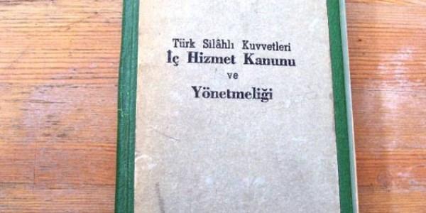 TSK, �� Hizmet Y�netmeli�inde de�i�iklik