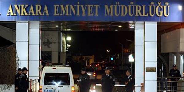 Ankara Emniyet M�d�rl���'nde 98 ki�inin g�rev yeri de�i�ti
