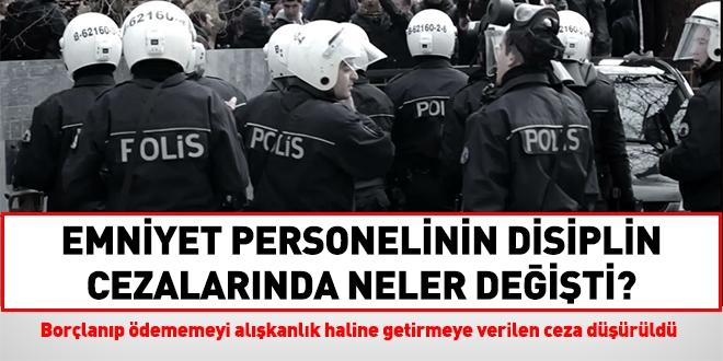 Polis Disiplin Cezalarinda Neler Degisti Iste Karsilastirilmali