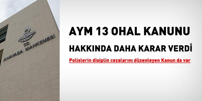 OHAL, anayasaya ve uluslararası hukuka uygun