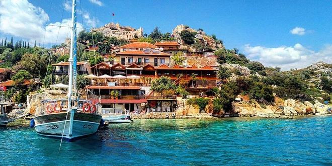 Türkiye'nin saklı cenneti... Üçağız