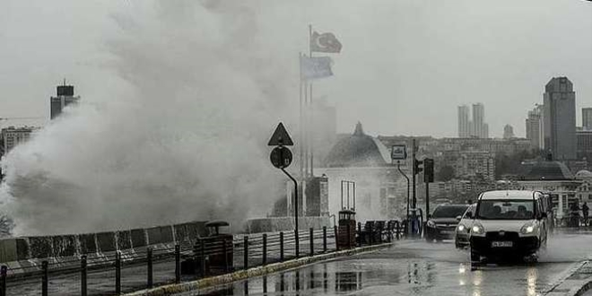 Meteorolojiden fırtına uyarısı ile ilgili görsel sonucu