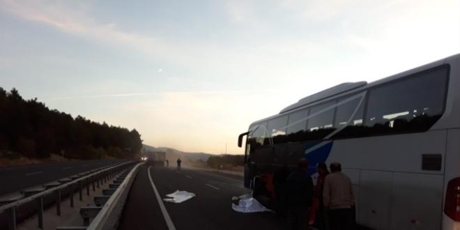 Uşakta Otobüs Kazası 1 ölü 26 Yaralı Memurlarnet