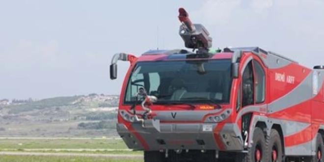 Türkiye'nin ilk elektrikli itfaiye aracı 2020'de görücüye çıkacak
