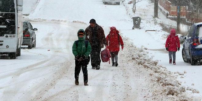Ankara ve 23 İlde Eğitime Kar Sebebiyle Ara Verildi