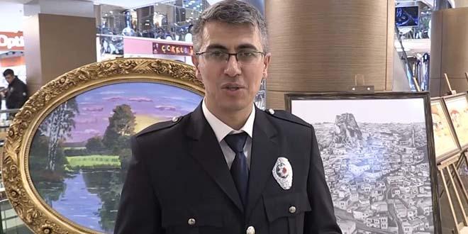 Ressam Polisten Resim Sergisi Memurlarnet