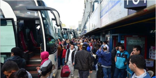 Bayram süresince otobüs firmalarından ek sefer - Memurlar.Net