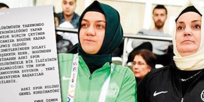 ASKİ'de başörtülü sporcular, İnstagram'ın Story bölümünden çıkarıldı