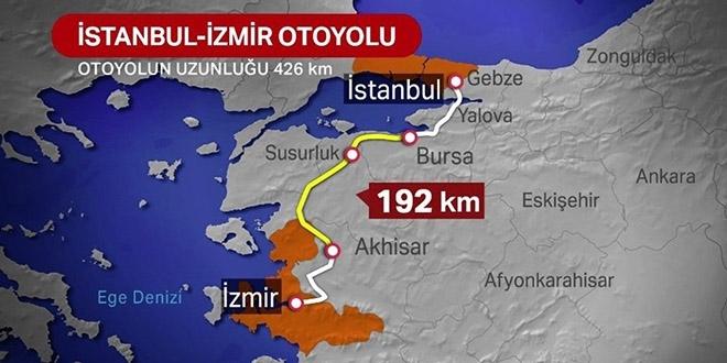İstanbul İzmir otoyolu kaç yıl sonra Devlete geçecek?